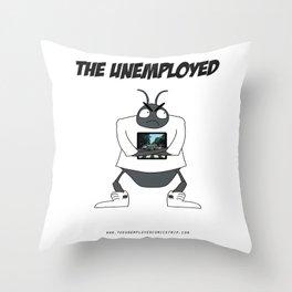 The Unemployed - Yoko Throw Pillow