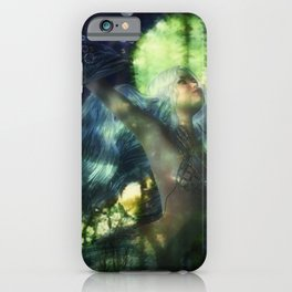 Swimming with Fish iPhone Case