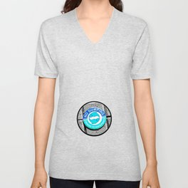 Swimming with the Fishes Unisex V-Neck