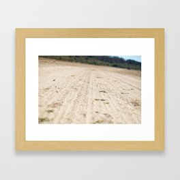 Way in Chile Framed Art Print