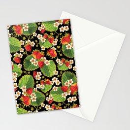 Strawberries Botanical Stationery Cards
