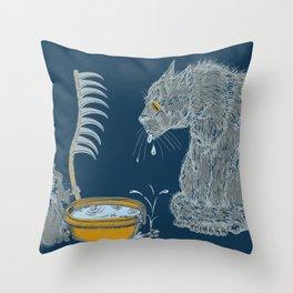 The Rat Reaper Throw Pillow