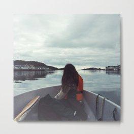 ocean girl Metal Print