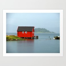 Inderøya , Norway Art Print
