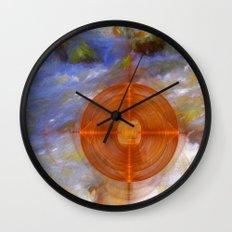 Portal to the wonderful water world Wall Clock