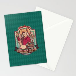 Harley's Puddin' Pops Stationery Cards