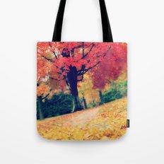 Fall stroll  Tote Bag