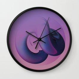 mOt. 08/07 - Violet. Wall Clock