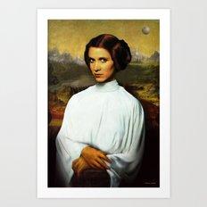 Mona Leia Art Print