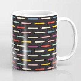 Modern Scandinavian Dash Multi Colour Color Coffee Mug
