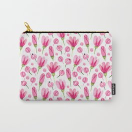 Pink flowers Nature Carry-All Pouch