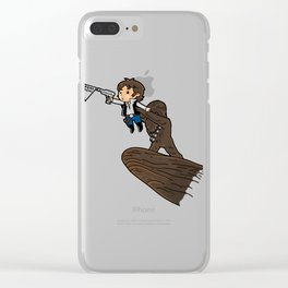Future Smuggler King Clear iPhone Case