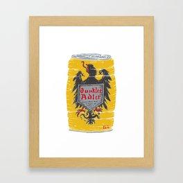 Dunkler Adle Framed Art Print