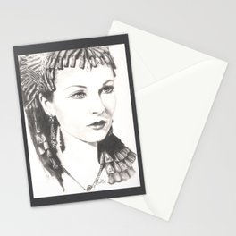queen of the nile... Stationery Cards