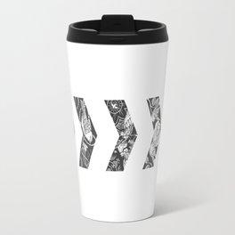 Liam's Chevrons Travel Mug
