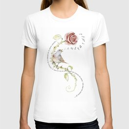 The nightgale and the rose T-shirt