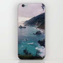 Big Sur Sunset iPhone Skin