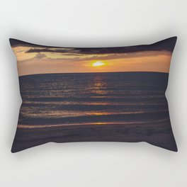 Sunset On Clearwater Beach, FL Rectangular Pillow