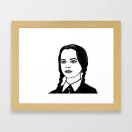 Be Very Afraid Framed Art Print
