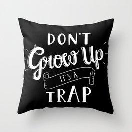 My version dark Throw Pillow
