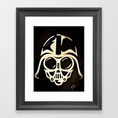 Baby Vader Framed Art Print