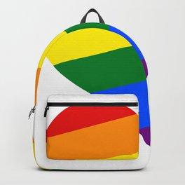 Pride hearts, I love my LGBTQ Backpack
