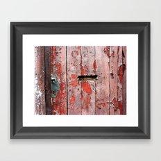 The Door 12 Framed Art Print