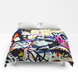 grafiti v.5 Comforters