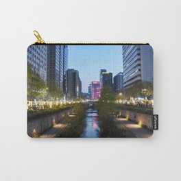 Stream at night Carry-All Pouch