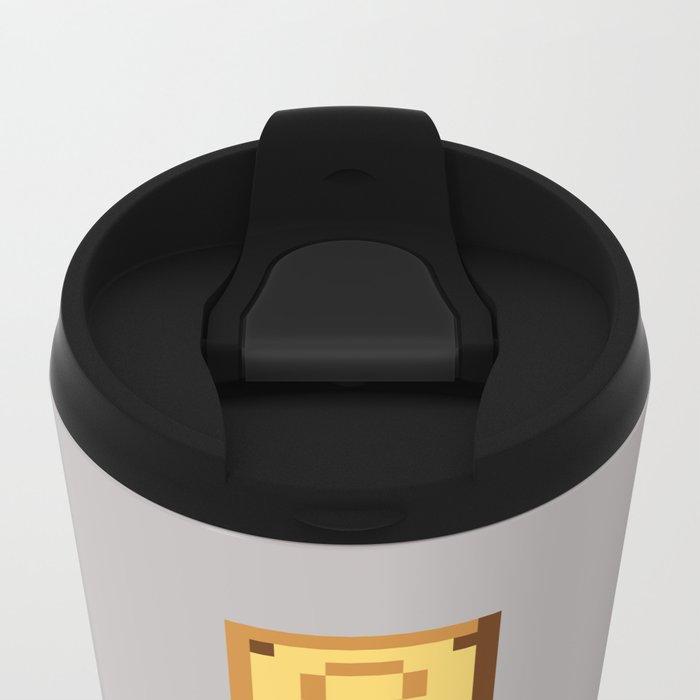 Pixel Plumber Metal Travel Mug