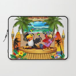 Gettin' Freaky at the Tiki Laptop Sleeve