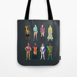 Naughty Lightsabers - Dark Tote Bag