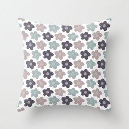 Naomi Flower Throw Pillow