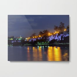 Kangaroo Point Cliffs Metal Print