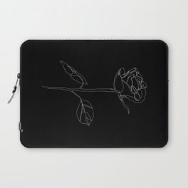 White Rose Laptop Sleeve
