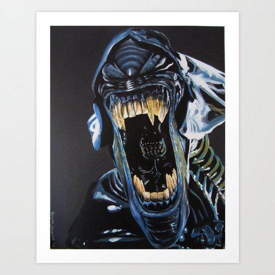 The Bitch Art Print
