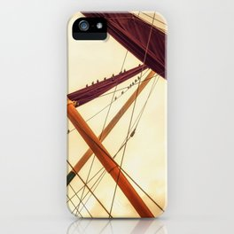 Masts of Yacht iPhone Case