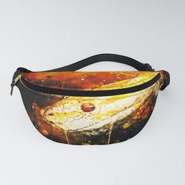 yellow tree python snake ws Fanny Pack