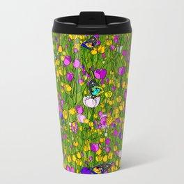 Tulip Obsessed Metal Travel Mug