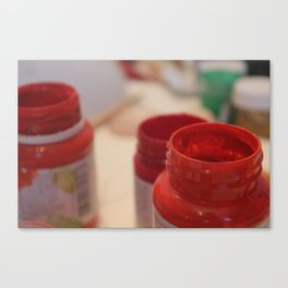 red ,  scarlet ,  ruddy Canvas Print