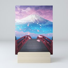 Cold summer nights Mini Art Print