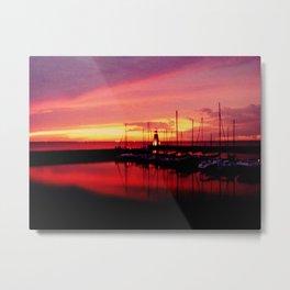 oklahoma sunset Metal Print