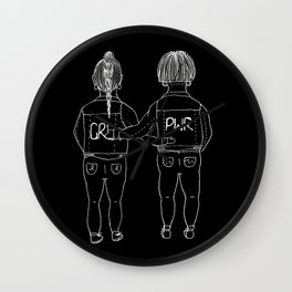 Unite (Inverted) Wall Clock