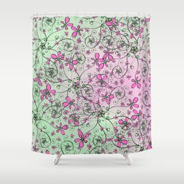 Brambles (2018) Shower Curtain