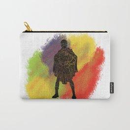 Robin Splatter Pattern Carry-All Pouch
