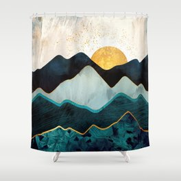 Glacial Hills Shower Curtain