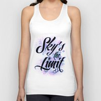2pac Tank Tops featuring Sky's The Limit by Gold Blood