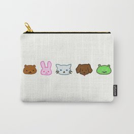 Crayon Animals Carry-All Pouch