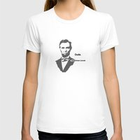 lincoln T-shirts featuring Abebroham Lincoln by Spooky Dooky