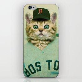 Baseball Kitten #3 iPhone Skin